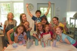 Summer Clay Camp Photo