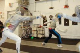 Youth Fencing (9-12 yrs old) Photo