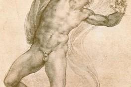 Classic Charcoal Drawing: Anatomy Photo