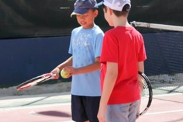 Outdoor Tennis (5 - 8 years old) Photo