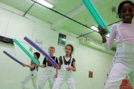 Fencing Day Camp Photo
