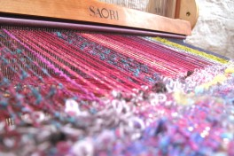 Advanced SAORI Weaving Class A Photo