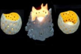 Ceramic Votive Candleholders Photo