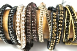 Double Leather Wrap Bracelet Photo