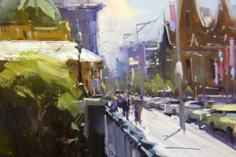 Painting on the Streets of NYC w/ Colley Whisson Photo