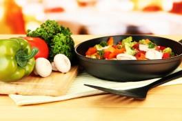 Creative Vegetarian Holiday Cooking Photo