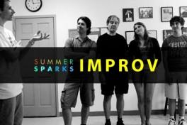 Summer Sparks: Improv Outside Photo
