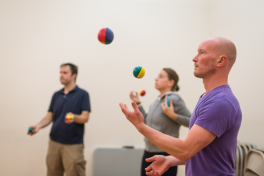 Juggling Workshop Photo