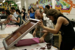 Intro to Screen Printing: All-Day Intensive Photo