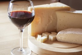 Wine and Cheese of Italy Photo