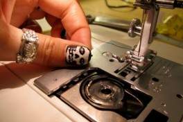 Sewing Machine Operation Photo