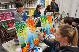 Painting classes new york coursehorse for Painting classes ct